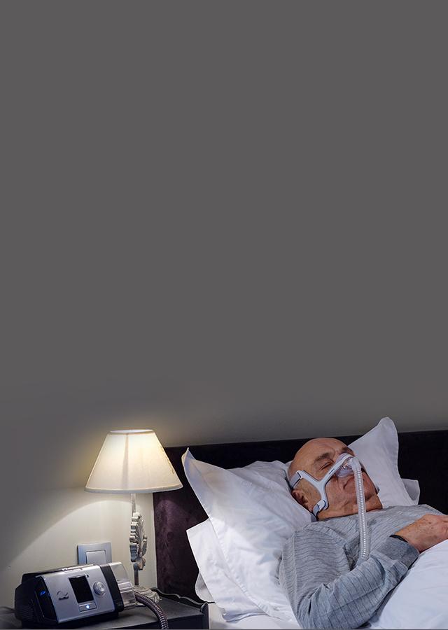 Resmed France France - AirView - suivi des patients à distance - ventilation - COPD - mobile